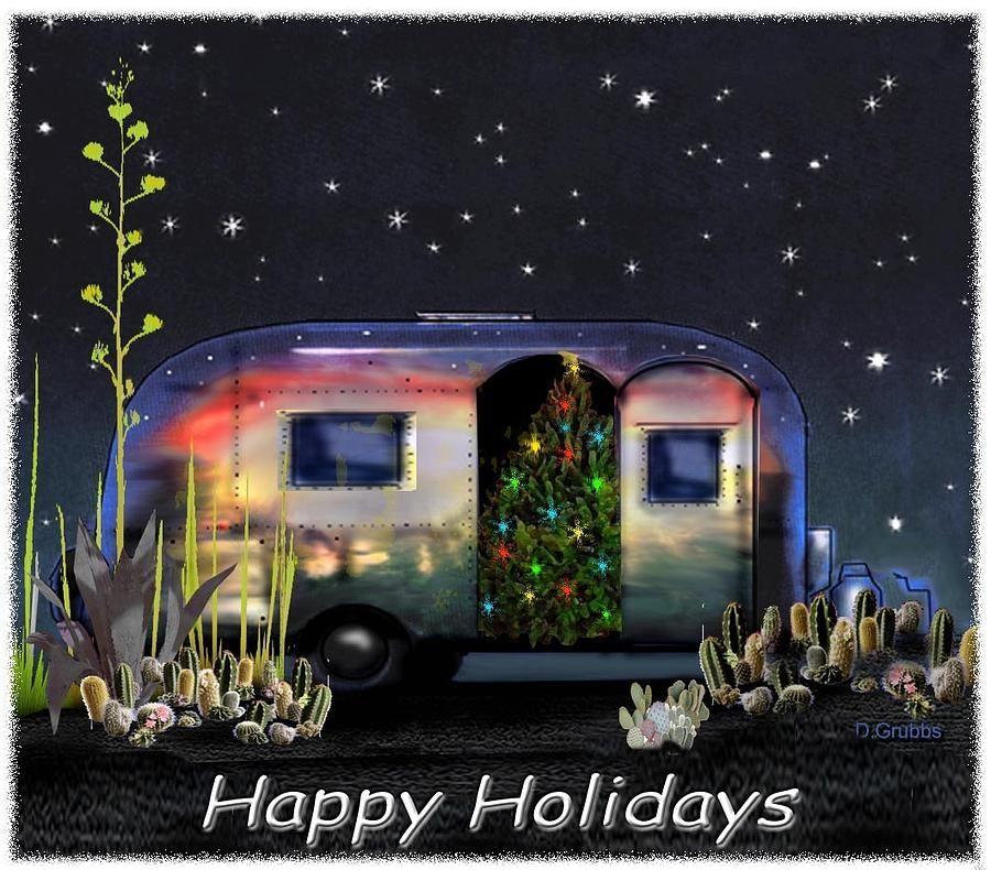 Airstream Christmas Cards