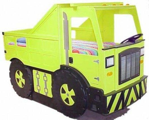Kinderbett junge traktor  Kinderzimmer gestalten – 20 Kinderbetten für coole Jungs wie Autos ...