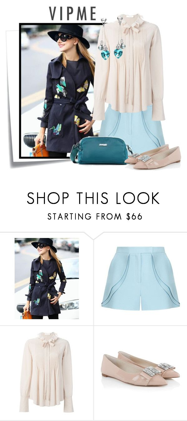 """""""VIPME 4"""" by elenb ❤ liked on Polyvore featuring Post-It, Elie Saab, Chloé, Michael Kors, women's clothing, women, female, woman, misses and juniors"""