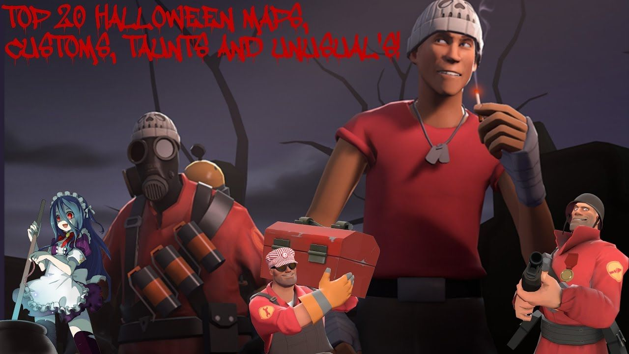 TF2: Top 20 Halloween Maps, Custom, Taunts and Unusual's! | [!Video