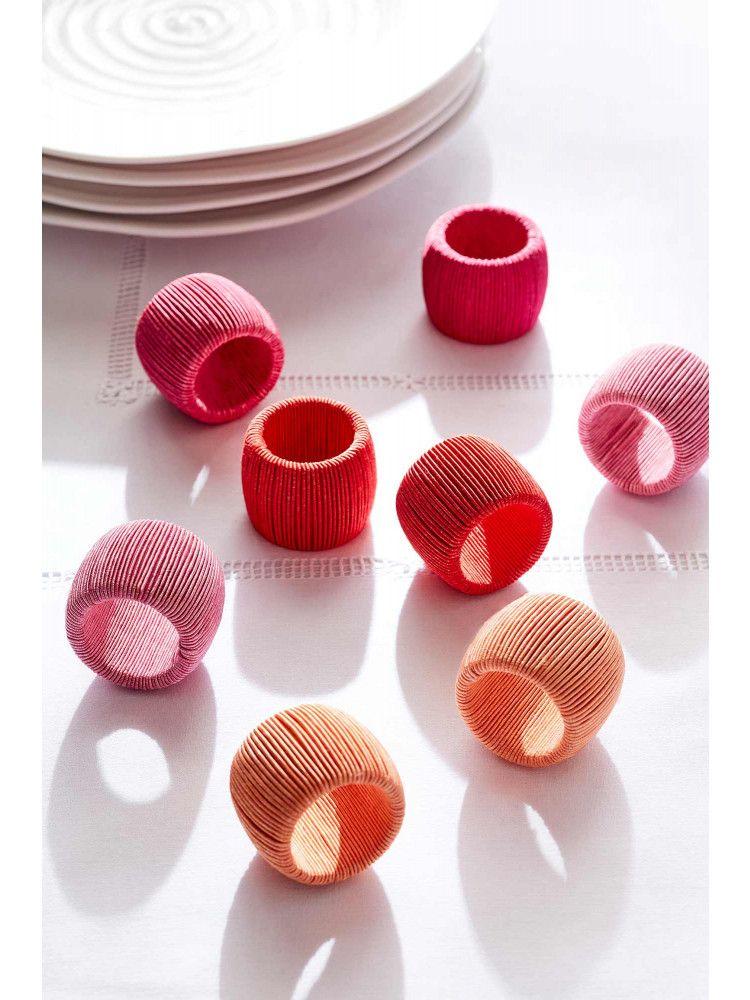 Soleil Cord Napkin Rings - Set of Eight #napkinrings