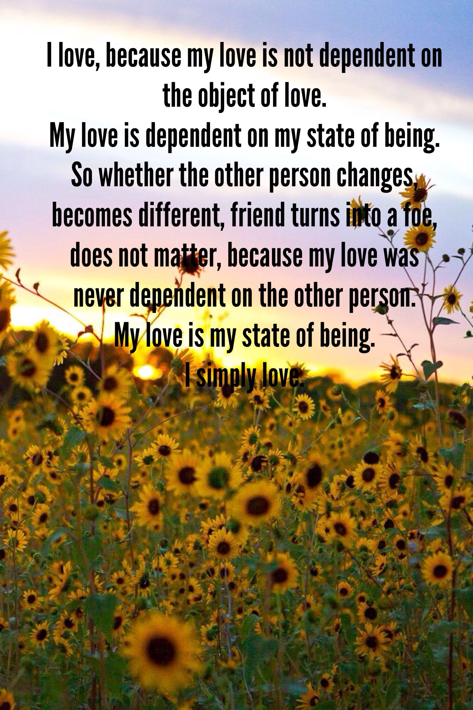 What Is Love To You Words Pinterest Sunflower Fields Kansas
