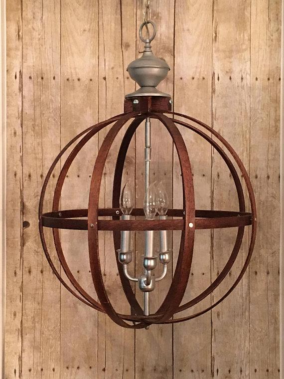 Industrial Vintage Metal Fan Pendant Lamp Steampunk Ceiling Chandelier Light BTT