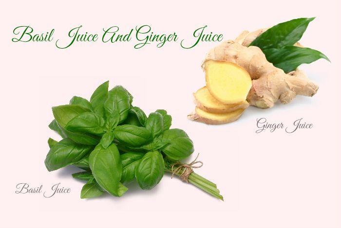 Basil Juice And Ginger Juice #juicingfornaturalhealing