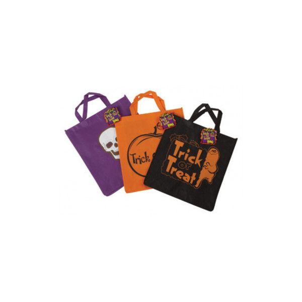 DM Merchandising HWTT-TTBG Halloween Trick Or Treat Bag, 15\ - decorate halloween bags