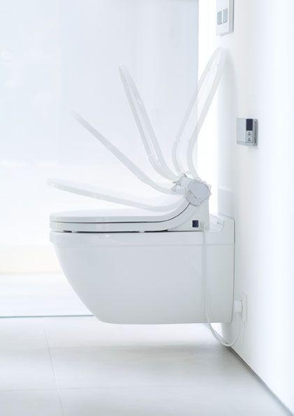 Powder Room Duravit Starck 3 Compact Wall Hung Toilet Wall Hung Toilet Toilet Design Toilet