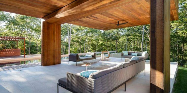 Porches jardin y terrazas cubiertas - 50 diseños excepcionales ...