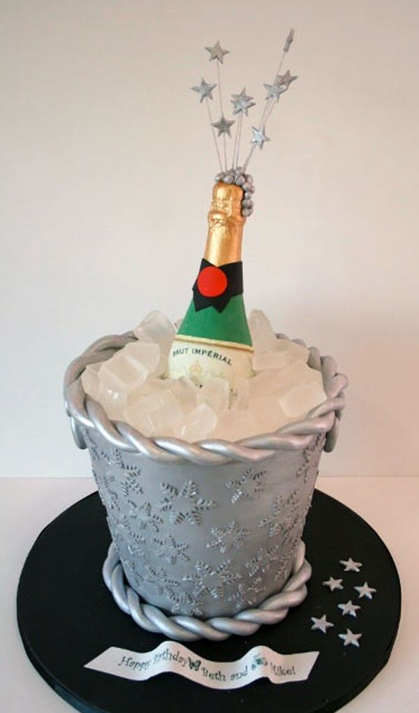 New Year S Eve Cake Ideas Sparkle Shine Amp Pizzazz