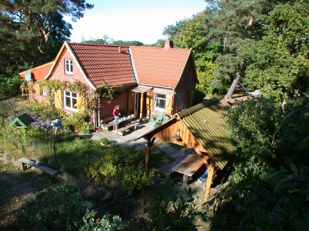 einsames wendland-ferienhaus im wendland: 2 schlafzimmer, für bis