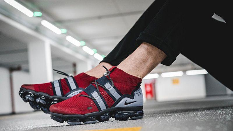4a8a151253 Nike Air VaporMax Utility Red Obsidian | AH6834-600 in 2019 ...
