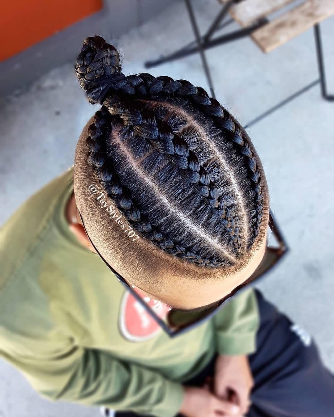 3 Cornrows Braids For Men Braid Styles For Men Mens Braids Hairstyles Cornrows Braids