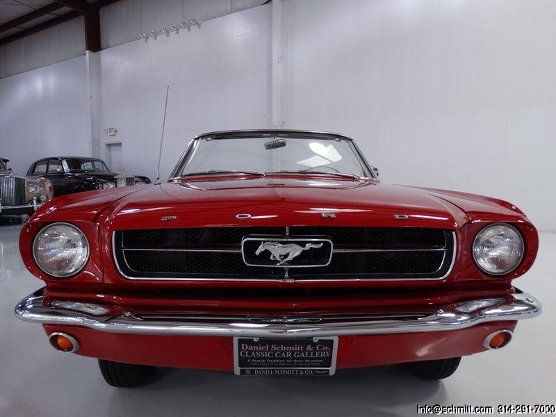 Daniel Schmitt & Co. Presents: 1965 Ford Mustang convertible - Visit www.schmitt.com or call 314-291-7000 for more details!