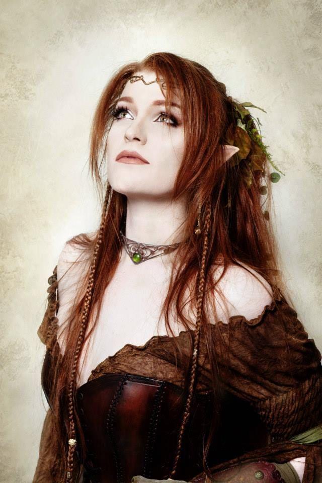 Sexy woodland elf redhead pics 185