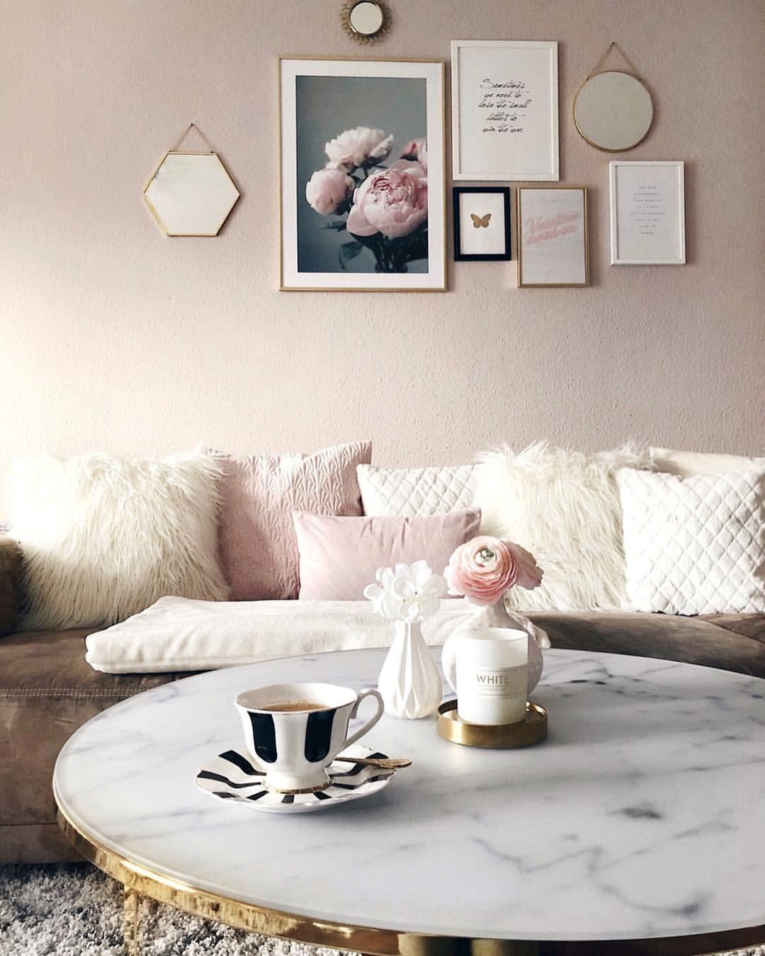 *Werbung // #springisinthehouse 🌸 das Wohnzimmer ist auf ...