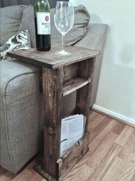 Photo of Sofa Stand plan/end table plan/couch stand plan/book stand plan/wine table plan/craft table plan/magazine stand plan/remote stand plan/pdf