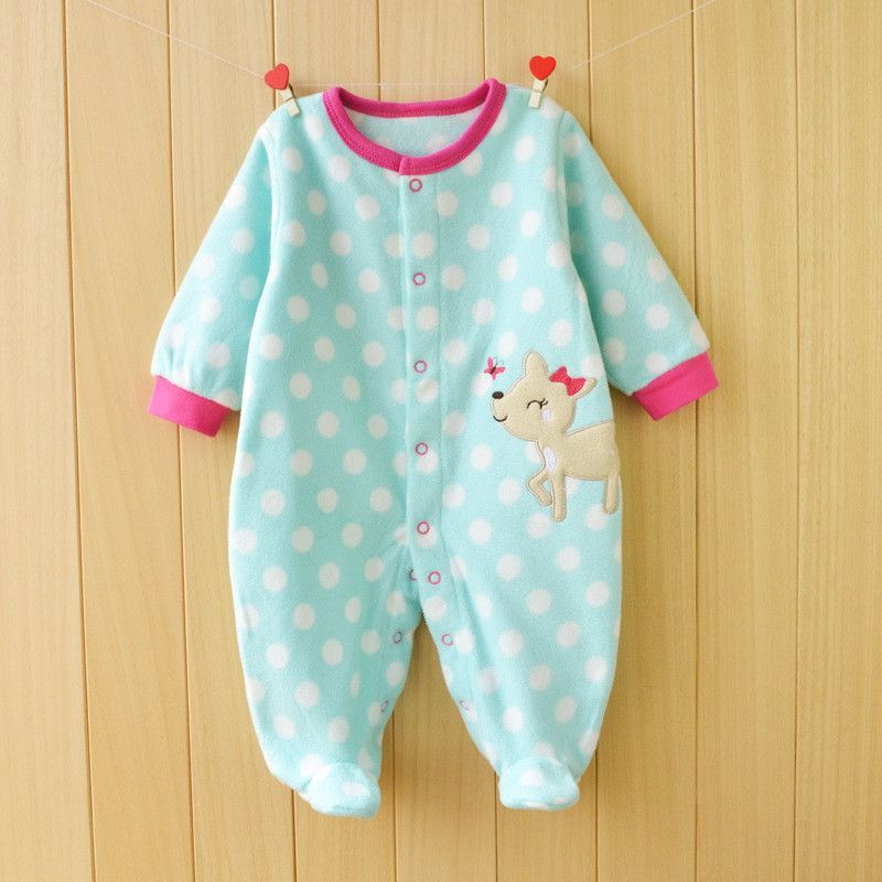 b0bd35f2038b New 2015 Autumn Winter Baby Rompers clothes long sleeved Newborn Boy ...