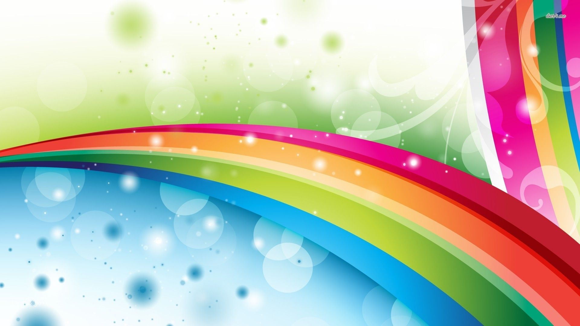 Wallpaper rainbow collection for free download hd for Home wallpaper videos