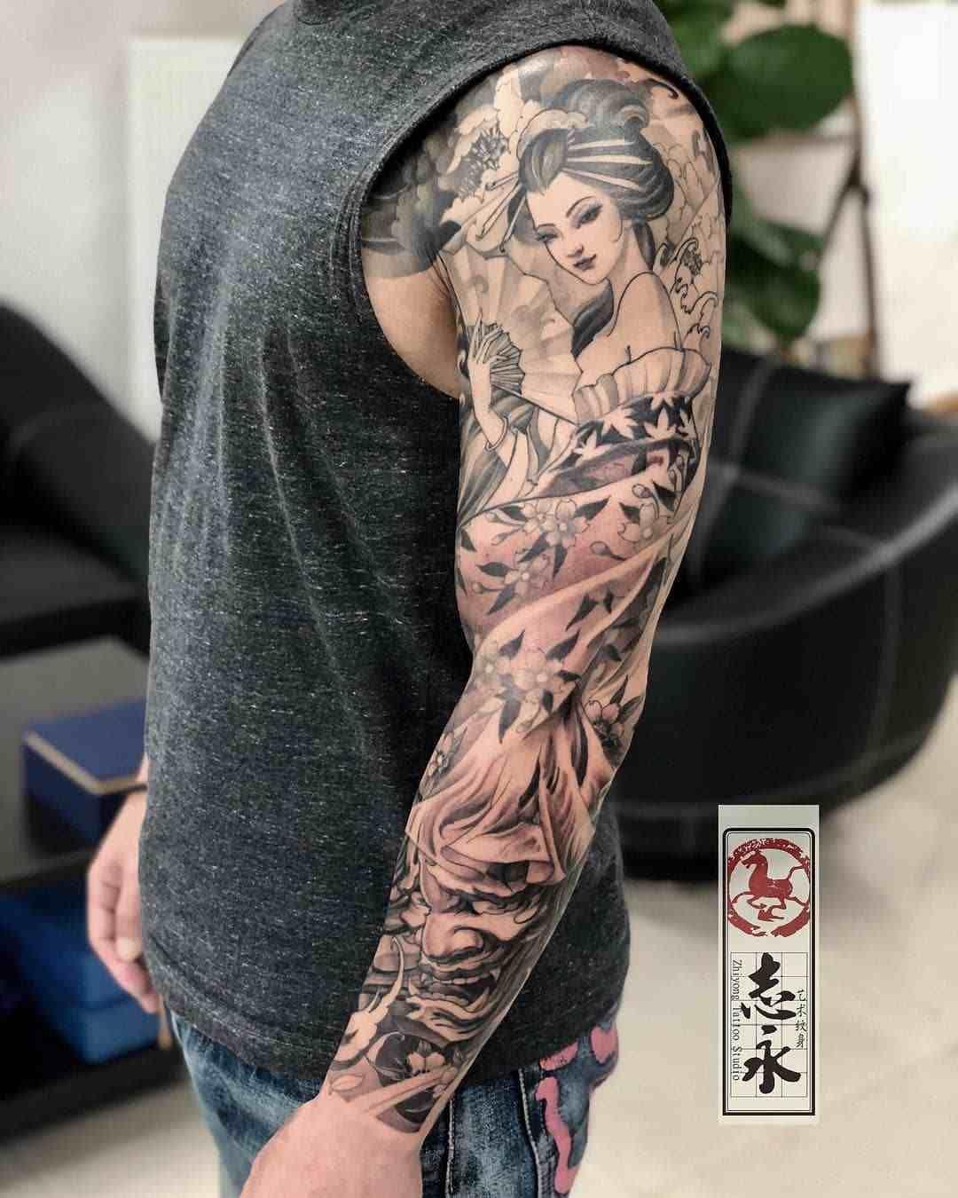 32+ Tatouage avant bras homme japonais inspirations