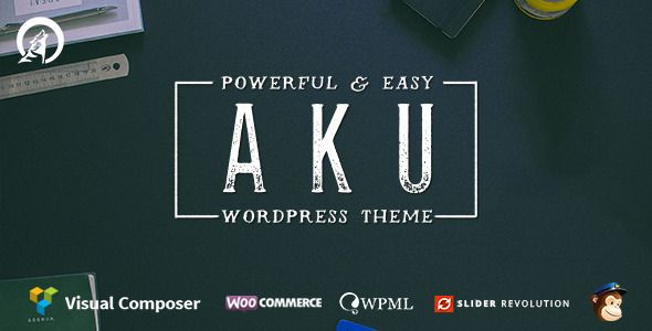 Aku - Powerful Responsive WordPress Theme
