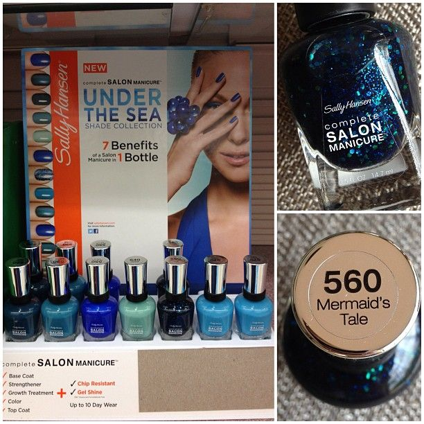 .@Tiffany Martinez | I spotted the Sally Hansen Under the Sea collection today at Walgreens! I onl... | Webstagram
