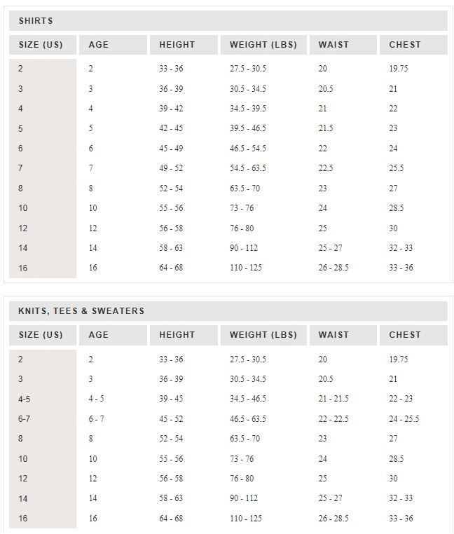 crew girls size chart also standard google search pattern making sewing rh pinterest