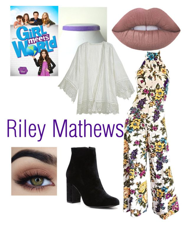 """Riley Mathews"" by breebeauty101 on Polyvore featuring Calypso St. Barth, Disney and Witchery"