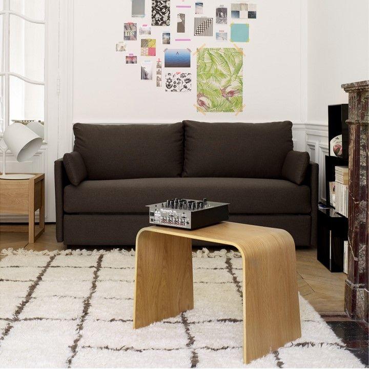 carl canap lit 3 places en tissu habitat prix soldes habitat 96820 ttc au - Lit 3 Places
