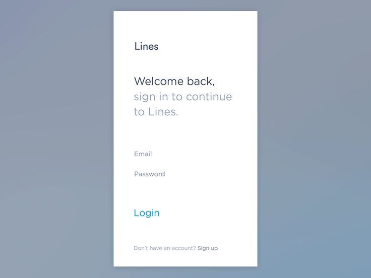 Login interactions and loading for the Health App Project.  Behance Twitter Facebook