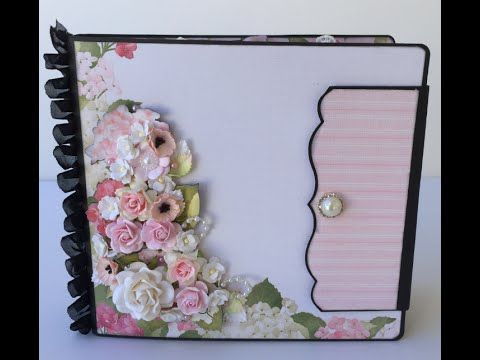 Mini album plus start to finish~Wild Orchid Crafts & Nitwit Collections!