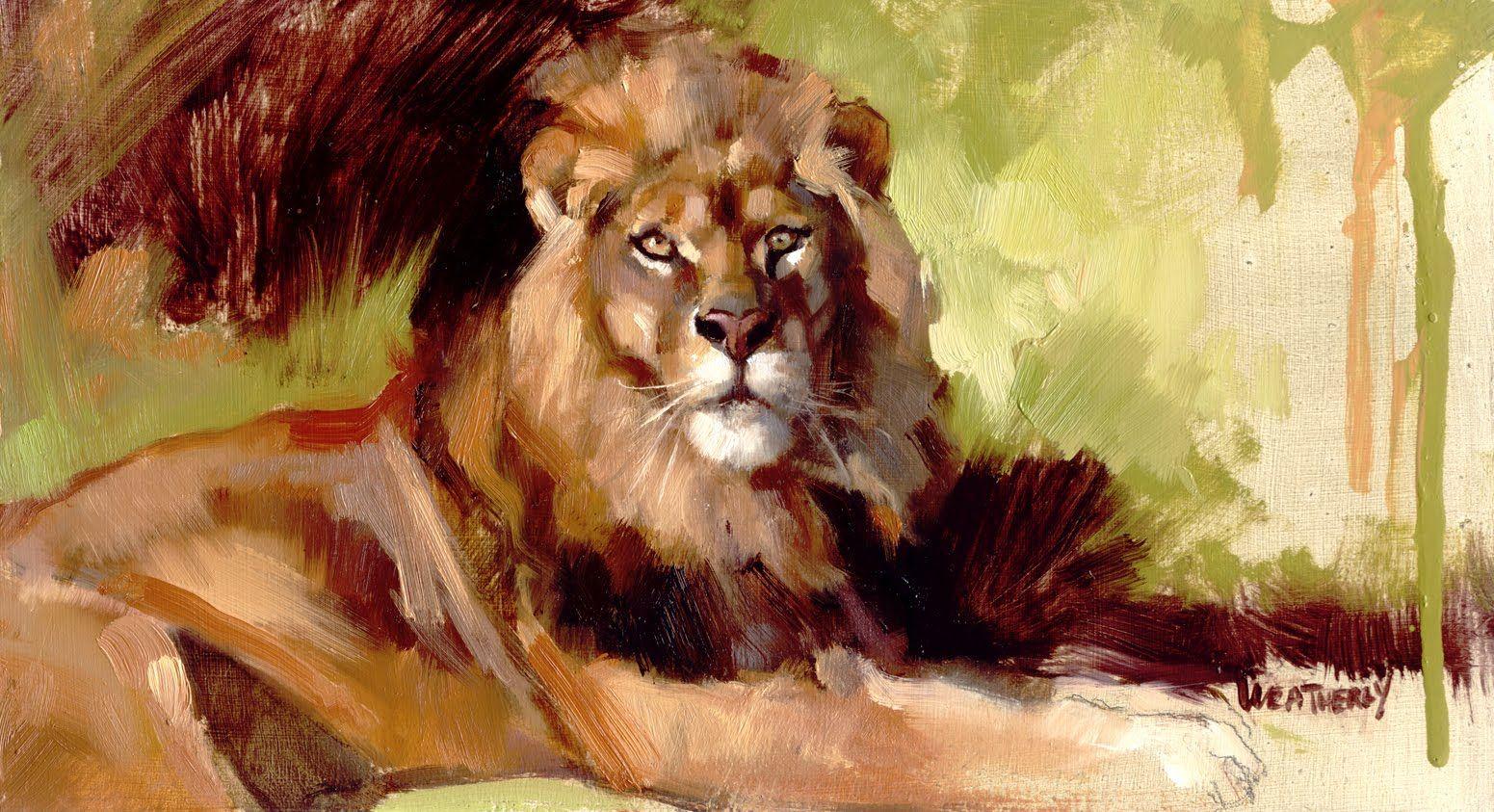 последние полгода рисунок львов гуашью случай стал