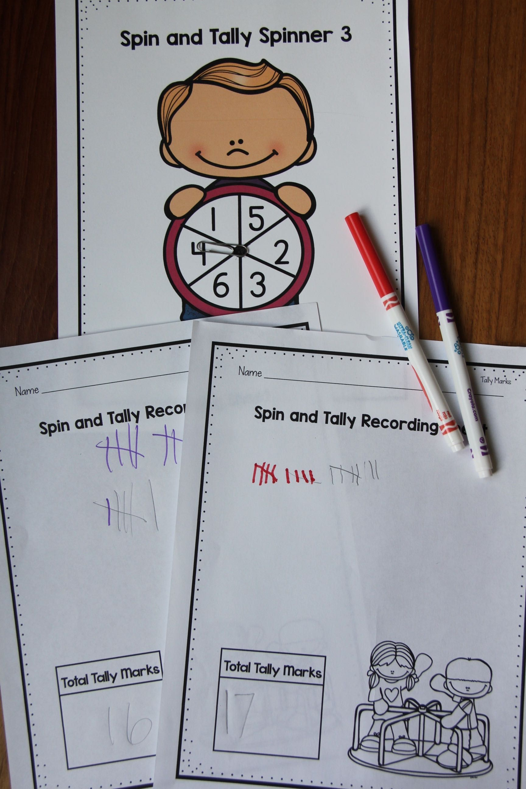 Tally Marks Activities For Guided Math