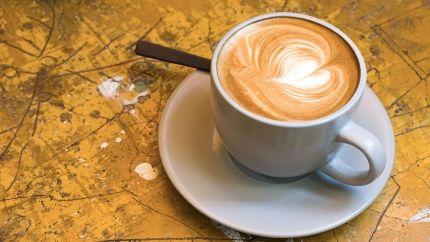 طريقة صنع كابتشينو Recipe Latte Glassware Tableware