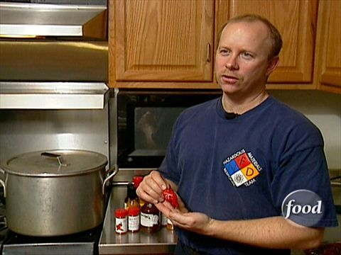 Fireman Chili : Step into the firehouse with Extreme Cuisine for some extremely hot chili.