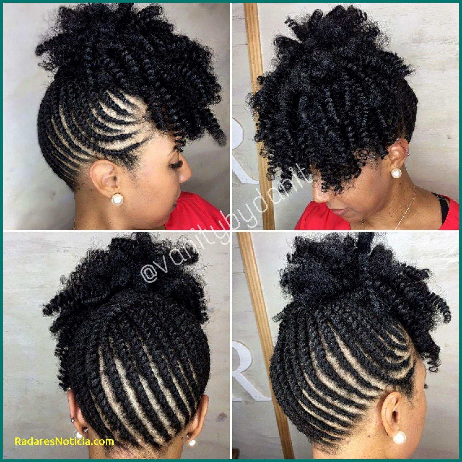 Natural Braided Updo Hairstyles Natural Hair Updo Natural Updo Hairstyles Hair Twist Styles Braided Updo Black Hair Braided Mohawk Hairstyles