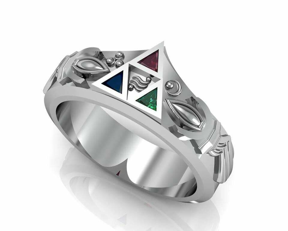 Legend of Zelda Wedding Ring things I want Pinterest Wedding