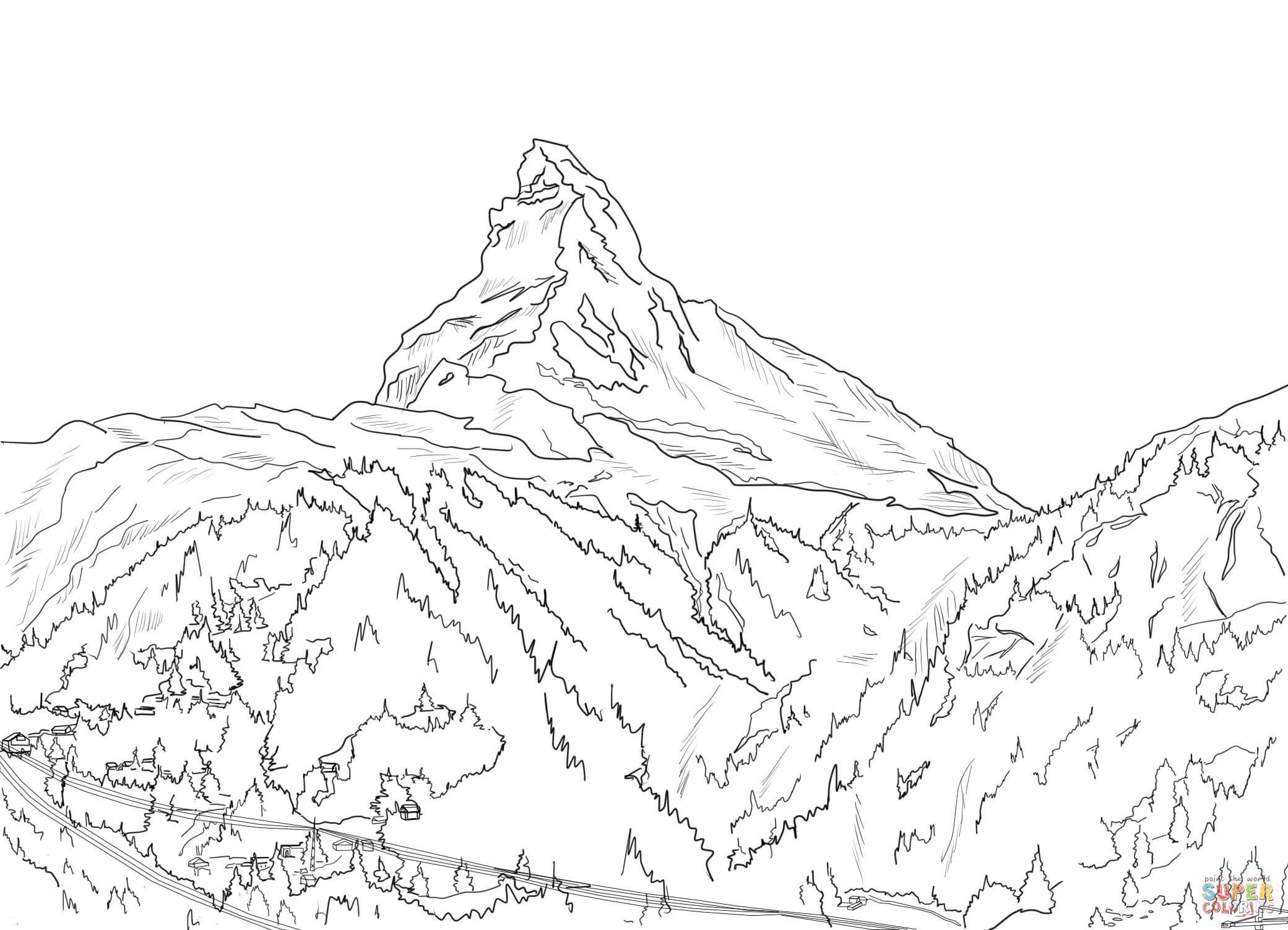 swiss-alps-matterhorn-coloring-page.jpg (2081×1503
