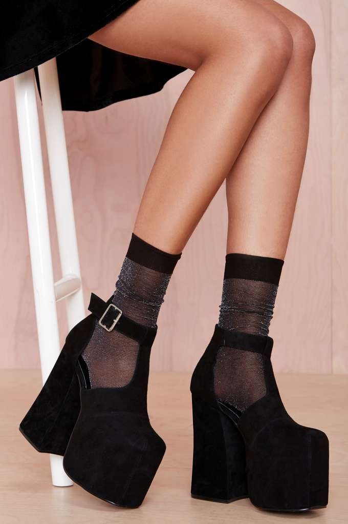Moon Walker Socks - Black