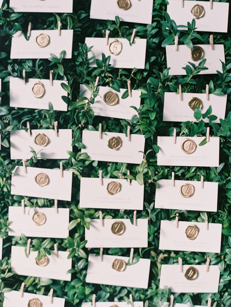 100 Fabulous wedding escort card ideas