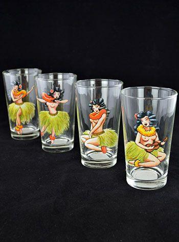 Hula Honey Drinking Glasses | PLASTICLAND