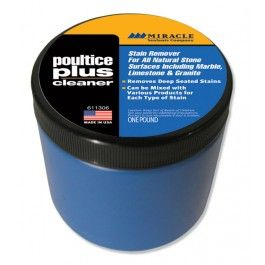 Miracle Sealants Poultice Plus 1lb Sealant Stain Stain Remover