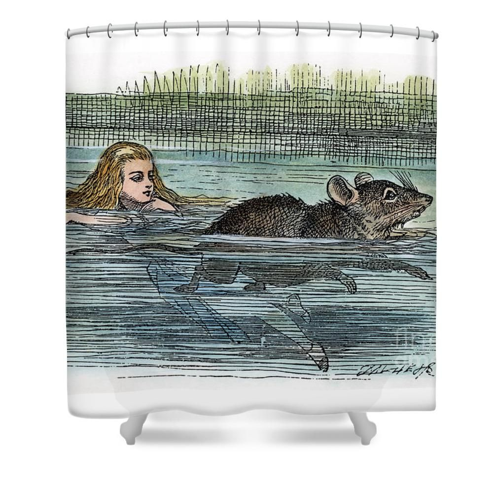 Alice In Wonderland Shower Curtain For Sale By Granger Alice In Wonderland Wonderland Alice