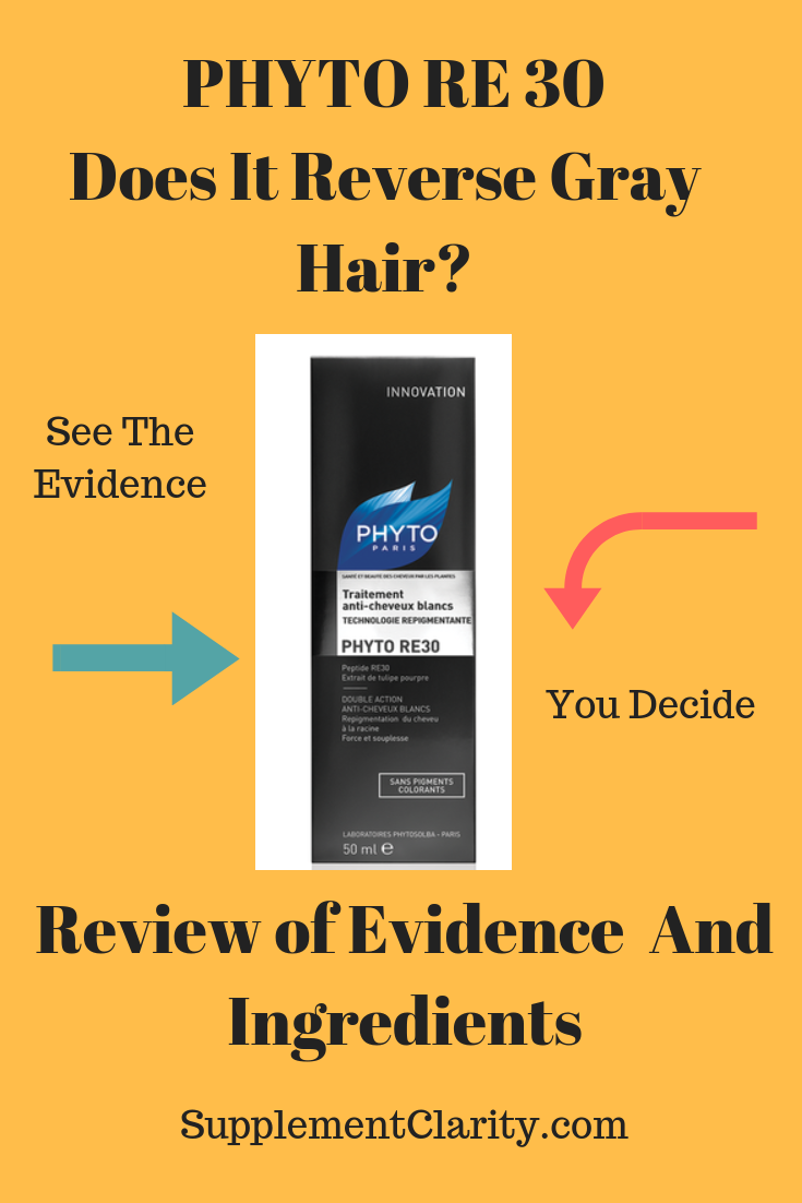 PHYTO RE30 Anti Gray Hair Review Does It Work? You Decide