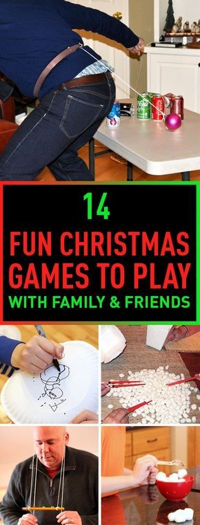 14 fun christmas games to play with family friends. Black Bedroom Furniture Sets. Home Design Ideas