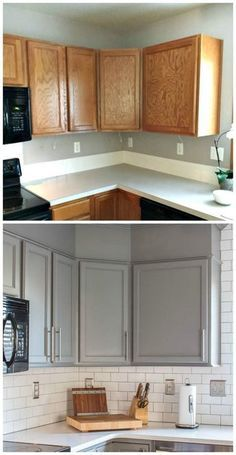 How to Paint Unfinished Kitchen Cabinets | Dekor