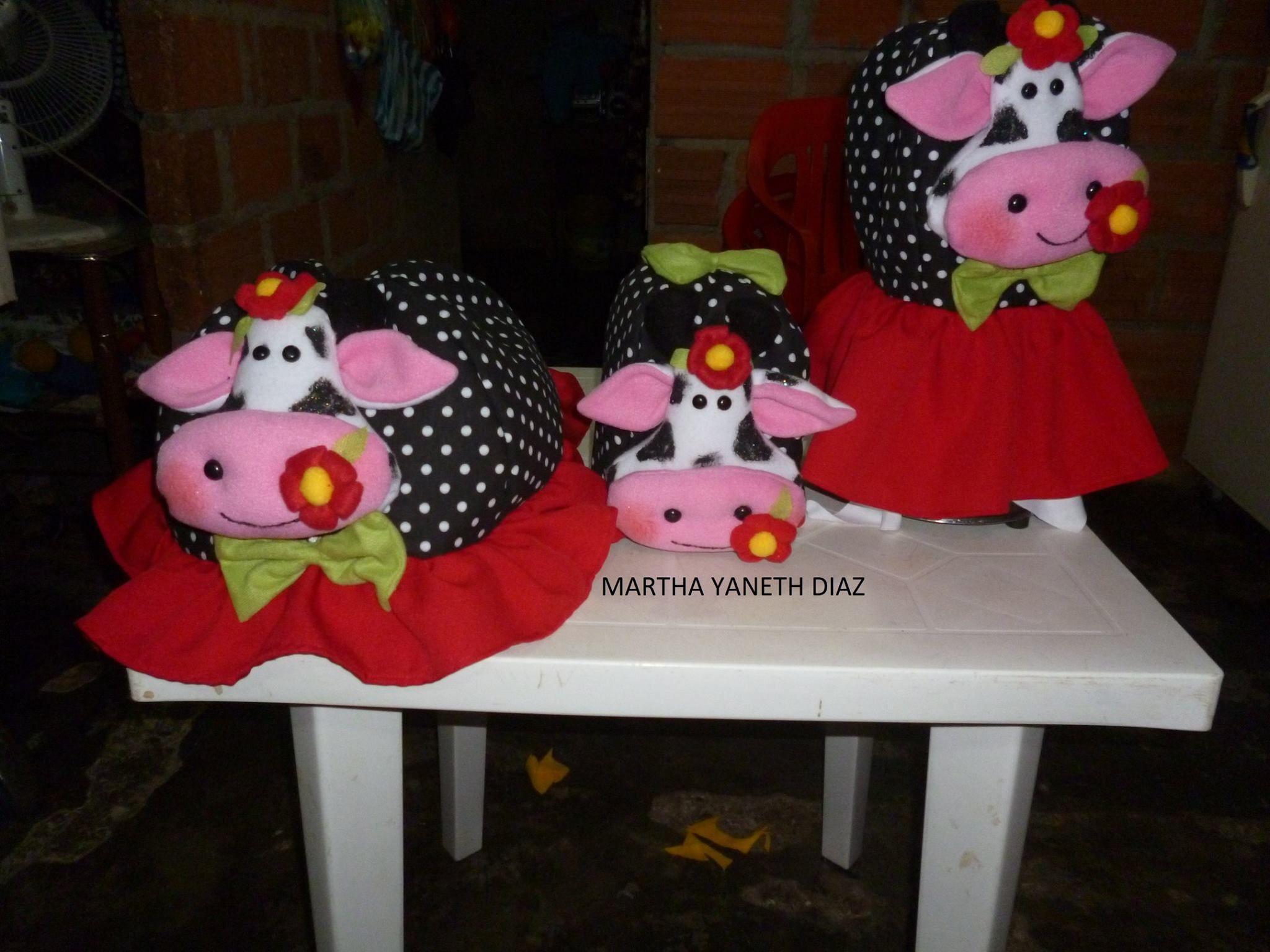 vestidos  d  vacas para la cocina