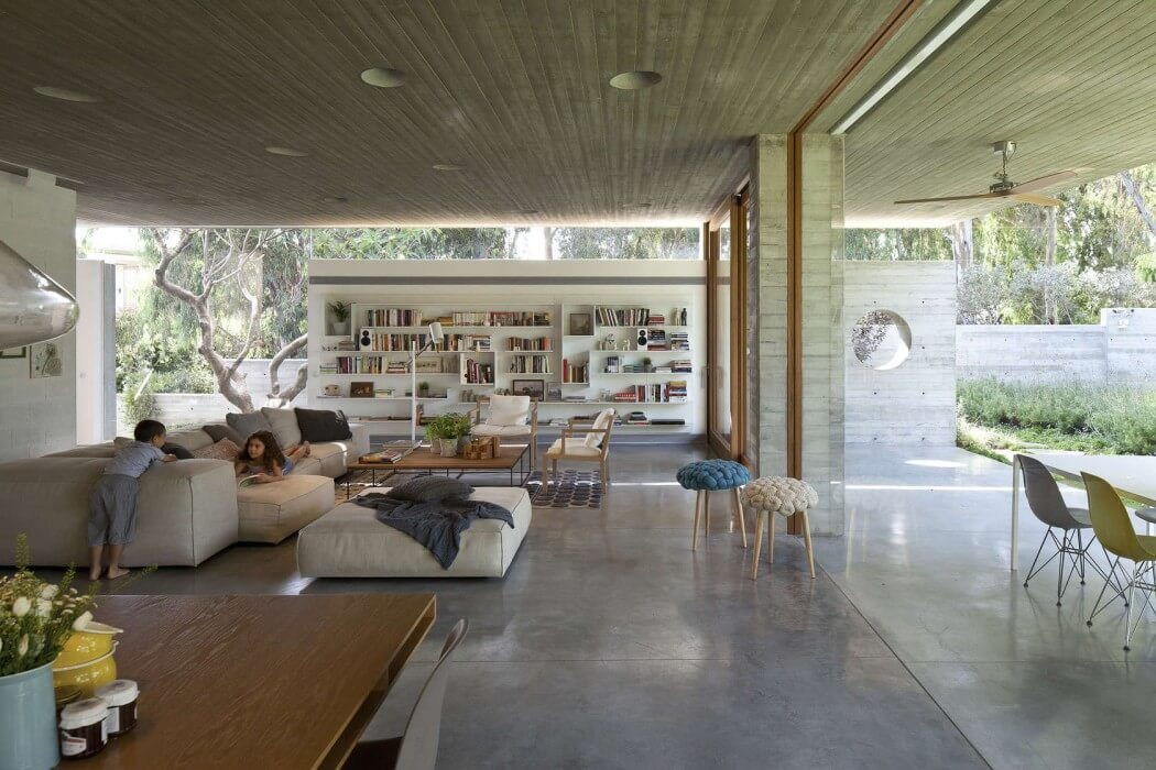 house in ramat hasharon by pitsou kedem architect
