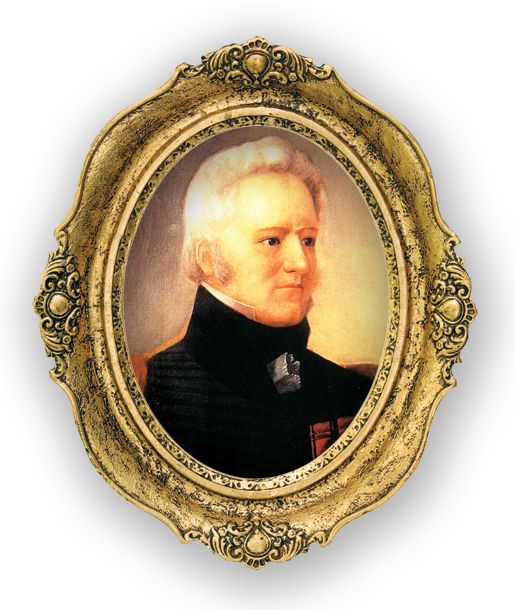 Lieutenant-Colonel Charles-Michel de Salaberry (above) was known as a harsh disciplinarian who had served the British in the Antilles, Sicily and Ireland and yet was known for his refinement in society. Like the milkweed growing on the field today, he was of sturdy stock designed for fighting in the harsh realities of the Canadian wilderness.