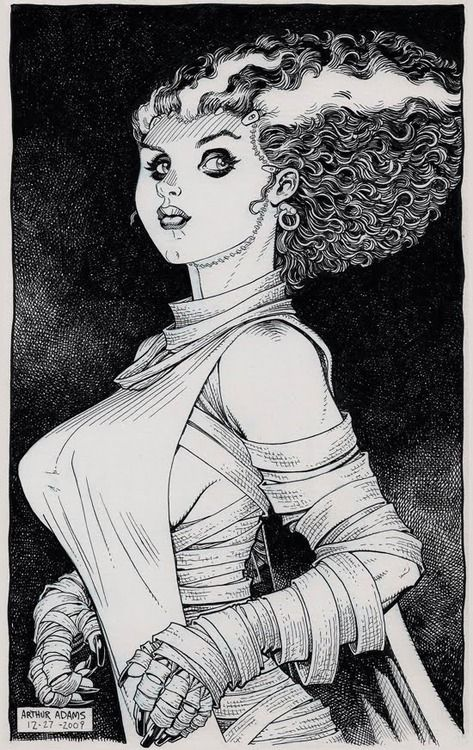 Art Adams ( my new ,favorite,previously undiscovered, great artist ...
