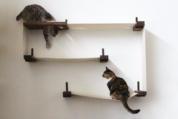 Fabric Cat Maze Cat Hammock Shelves Free Us Shipping Hamaca De Gato
