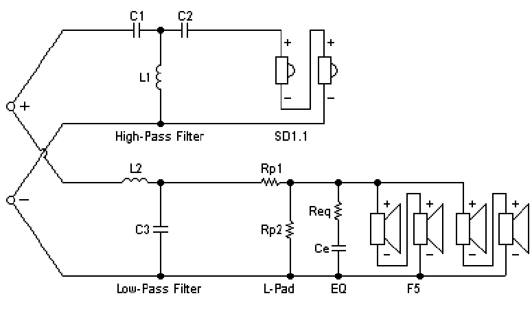 hivi f5    sd1 1a crossover schematic